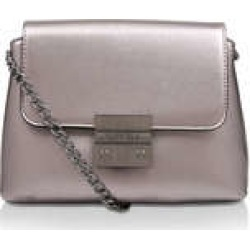 Womens Mini Blink Shoulder Bag Carvela Handbags Pewter found on Bargain Bro UK from Shoeaholics