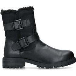 KG Kurt Geiger Snug 2 - Black Faux Fur Lined Biker Boots found on Bargain Bro UK from Kurt Geiger UK