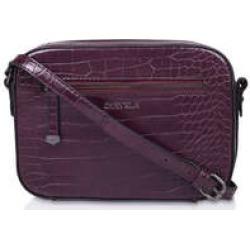 Carvela Daisy Cross Body - Wine Croc Cross Body Bag found on MODAPINS from Kurt Geiger UK for USD $47.79