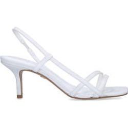 Kg Kurt Geiger Feefee - White Stiletto Heel Strappy Sandals found on Bargain Bro UK from Kurt Geiger UK