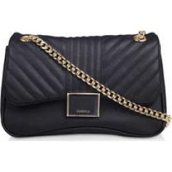 Carvela Harper Quilted Shoulder Bag - Black Shoulder Bag found on Bargain Bro UK from Kurt Geiger UK