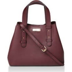 Womens Darcie Mini Slouch Tote Handbags Carvela Wine found on Bargain Bro UK from Shoeaholics