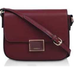 Womens Carvela Harper Saddle Bagwine Cross Body Saddle Bag, No Size found on MODAPINS from Shoeaholics for USD $55.02