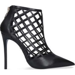 Carvela Graphic - Black Cage Stiletto Heels found on MODAPINS from Kurt Geiger UK for USD $211.67