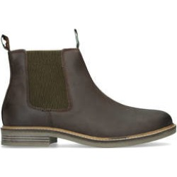Barbour Farsely Chelsea - Dark Brown Leather Casual Boots found on MODAPINS from Kurt Geiger UK for USD $127.39