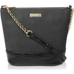Womens Carvela Rich Zip Chain Bucket Bagblack Bucket Bag, No Size found on MODAPINS from Shoeaholics for USD $55.02