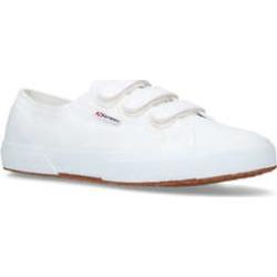 Mens Superga 2750 Cot3Strap2750 Cot3Strap Low Heel Sneakers Superga White, 10 UK found on Bargain Bro UK from Shoeaholics