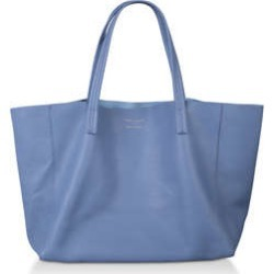 Womens Kurt Geiger London Violet Horizontal Tote, Blue Dark found on Bargain Bro from Shoeaholics for £130