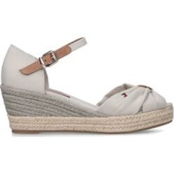 Womens Tommy Hilfiger Ot Mid Wedge, 3 UK, Beige found on Bargain Bro UK from Shoeaholics