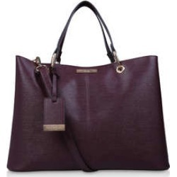 Carvela Samantha Slouch Tote - Wine Tote Bag found on Bargain Bro UK from Kurt Geiger UK