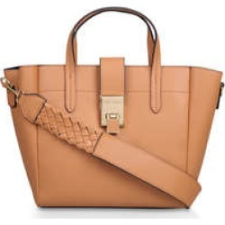 Carvela Heroic Weave Tote - Tan Tote Bag found on MODAPINS from Kurt Geiger UK for USD $91.81