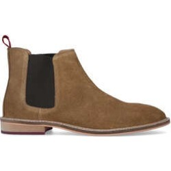 KG Kurt Geiger Paolo - Tan Suede Chelsea Boots found on MODAPINS from Kurt Geiger UK for USD $135.30