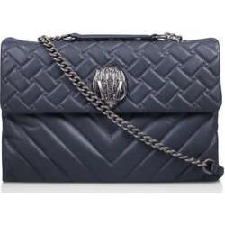 Kurt Geiger London Leather Xxl Kensington - Grey Shoulder Bag found on Bargain Bro UK from Kurt Geiger UK