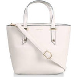 Womens Carvela Impress Midi Tote, Bone found on Bargain Bro from Shoeaholics for £39