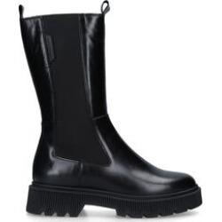 Kurt Geiger London Stint - Black Leather Knee Boots found on MODAPINS from Kurt Geiger UK for USD $135.40