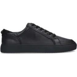 Kurt Geiger London Southgate Zip Sneaker - Black Lace Up Trainers found on Bargain Bro UK from Kurt Geiger UK