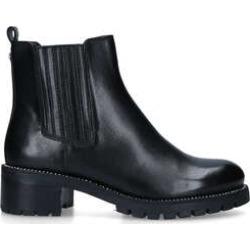Carvela Treaty Chelsea - Black Leather Chelsea Boots found on Bargain Bro UK from Kurt Geiger UK