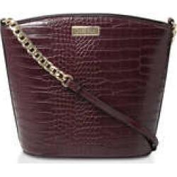 Womens Freda Croc Bucket Bag Handbags Carvela Wine found on Bargain Bro UK from Shoeaholics