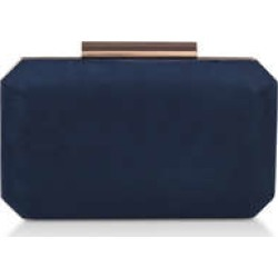 Carvela Ola - Navy Clutch Bag found on Bargain Bro UK from Kurt Geiger UK