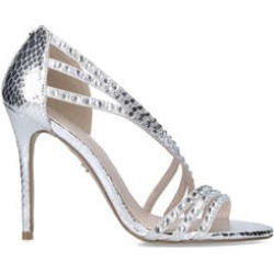 Carvela Goliath - Metallic Silver Embellished Heels found on MODAPINS from Kurt Geiger UK for USD $98.94