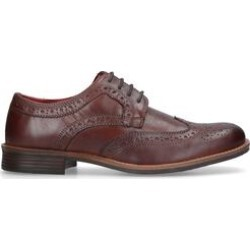 Mens Silver Street Milton'Silver Street Milton Brown Leather Formal Shoe', 7 UK found on Bargain Bro UK from Shoeaholics