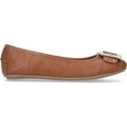 Womens Carvela Missionmission Flats Carvela Tan, 5 UK found on Bargain Bro UK from Shoeaholics