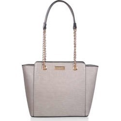 Carvela Mini Deedee - Taupe Croc Print Mini Tote Bag found on Bargain Bro UK from Kurt Geiger UK