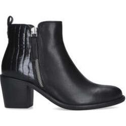 Carvela Secil - Black Block Heel Ankle Boots found on Bargain Bro UK from Kurt Geiger UK