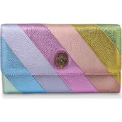 Kurt Geiger London Kensington Chain Wallet - Rainbow Stripe Clutch Bag found on Bargain Bro UK from Kurt Geiger UK