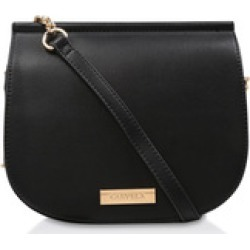 Womens Bee Chain Side X Body Handbags Carvela Black found on Bargain Bro UK from Shoeaholics