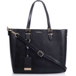 Womens Carvela Jamie Winged Tote, No Size, Black found on MODAPINS from Shoeaholics for USD $40.91
