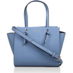 Womens Carvela Mini Jamie Knot Tote, No Size, Pale Blue found on Bargain Bro UK from Shoeaholics