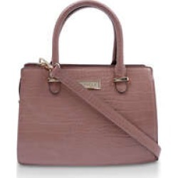 Carvela Chilly Cross Body - Pink Croc Cross Body Bag found on MODAPINS from Kurt Geiger UK for USD $68.86