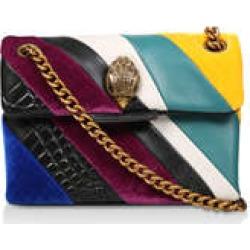 Kurt Geiger London Mini Kensington S Bag - Multicoloured Striped Mini Shoulder Bag found on Bargain Bro UK from Kurt Geiger UK