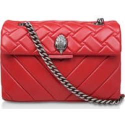 Kurt Geiger London Leather Kensington - Red Leather Shoulder Bag found on Bargain Bro UK from Kurt Geiger UK