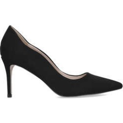 Womens Miss Kg Corinthiablack Pointed Mid Heel Courts, 4 UK found on Bargain Bro UK from Shoeaholics