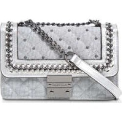 Carvela Carvela Bailey Quilted Chain Bag - Silver Quilted Cross Body Bag found on MODAPINS from Kurt Geiger UK for USD $95.57