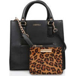 Womens Simba Pocket Purse Tote Carvela Handbags Blk/Brown found on Bargain Bro UK from Shoeaholics