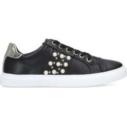 Womens Jitter Carvela Black Trainers, 5 UK found on MODAPINS from Shoeaholics for USD $48.64