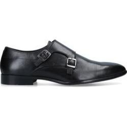 KG Kurt Geiger Amble - Black Leather Double Strap Monk Shoes found on Bargain Bro UK from Kurt Geiger UK
