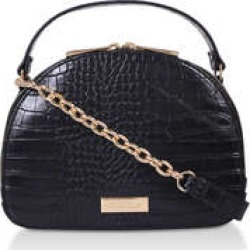 Womens Carvela Harbour Dome Cross Body, Black found on Bargain Bro UK from Shoeaholics