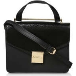 Carvela Fame Top Handle Tote - Black Tote Bag found on Bargain Bro UK from Kurt Geiger UK