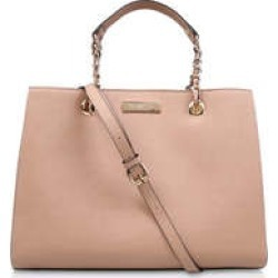 Womens Carvela Bennie Structured Tote, Nude found on Bargain Bro from Shoeaholics for £49