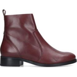 Carvela Sail - Wine Leather Ankle Boots found on Bargain Bro UK from Kurt Geiger UK