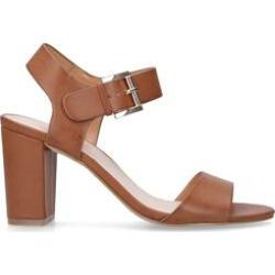 Womens Carvela Sadiesadie Summer Carvela Tan 85 Mm Heel Sandals, 5.5 UK found on Bargain Bro from Shoeaholics for £39