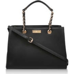 Womens Bennie Chain Str Tote Flat Handbags Carvela Black found on Bargain Bro UK from Shoeaholics