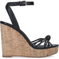 Aldo Kaoedia - Black Wedge Heel Sandals found on MODAPINS from Kurt Geiger UK for USD $52.00