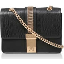 Carvela Casey Chain Cross Body - Black Snake Print Cross Body Bag found on Bargain Bro UK from Kurt Geiger UK