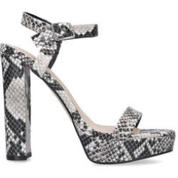 Carvela Greed - Sandal With An Ankle Strap And A Block Heel found on Bargain Bro UK from Kurt Geiger UK