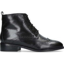 Carvela Toby - Black Flat Lace Up Boots found on MODAPINS from Kurt Geiger UK for USD $74.97